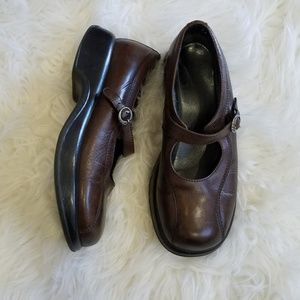 Dansko Brown Mary Jane Shoes